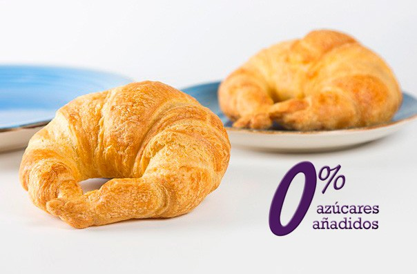 Croissant 0% azucares añadidos 95 g