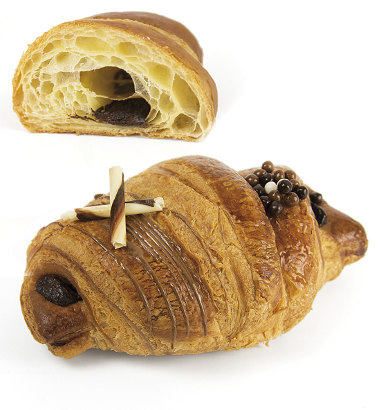 Croissant chocolate 100 g Fermented