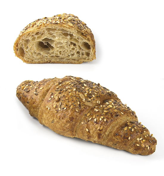Multi-Grain Croissant enriched with fibre 75 g