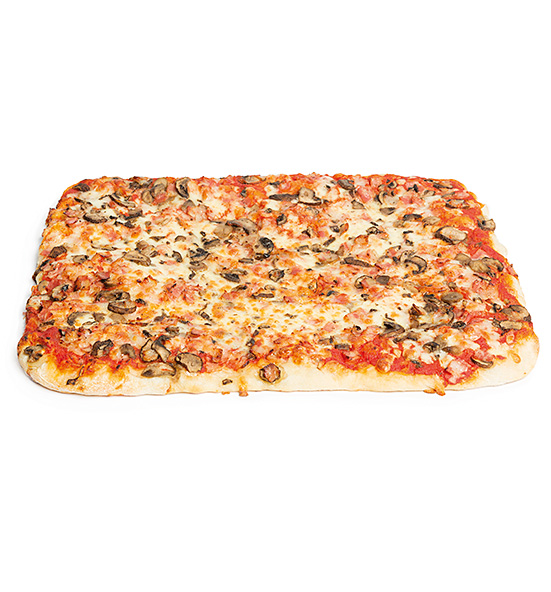 Pizza Champiñon y Bacon 1200 g