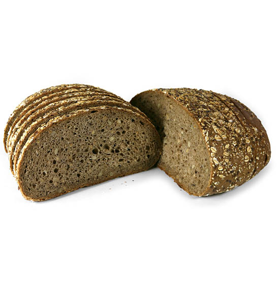 Grain bloomer, sliced 750 g
