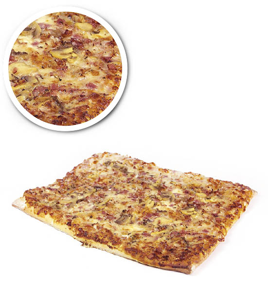 American pizza ham and cheese 1200 g
