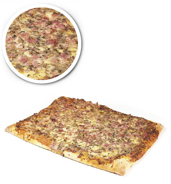 American pizza bacon and mushroom 1200 g