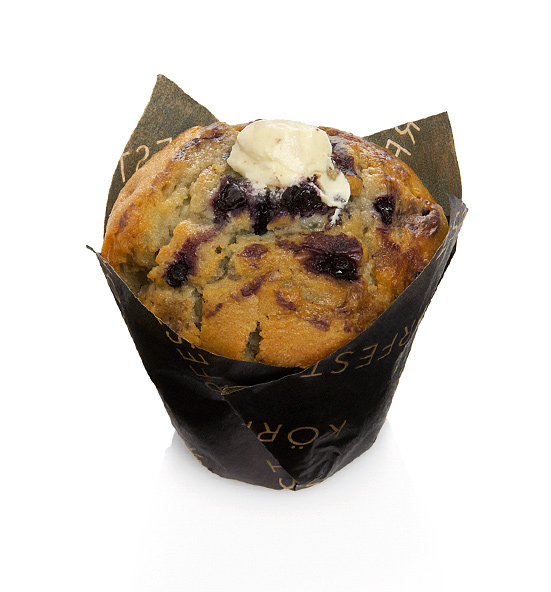Muffin KÖRFEST Cheese & Blueberry 110 g